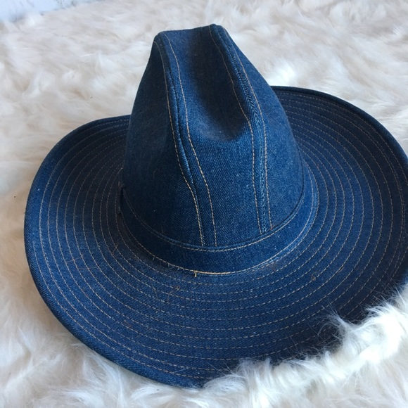 Levi s Accessories - Rare vintage Levi s denim hat 3f6c898b296